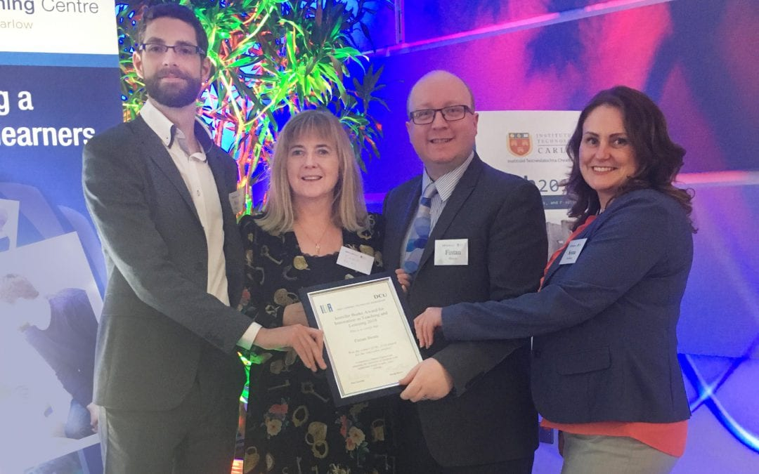 LINC programme wins award for Innovation in Teaching and Learning
