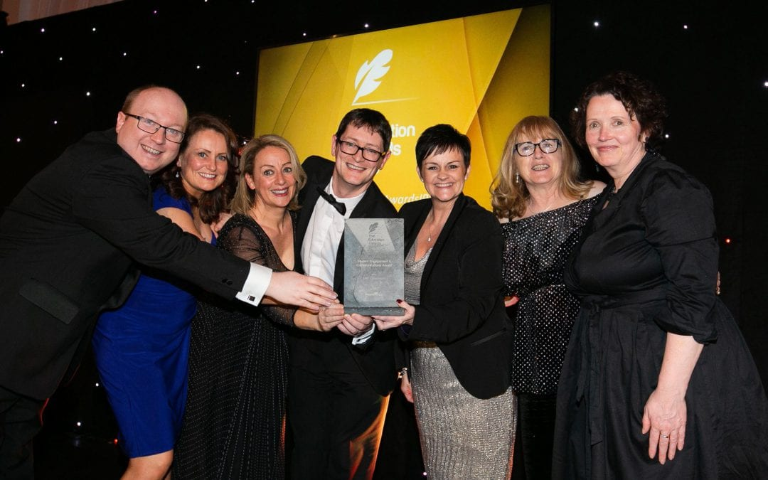 LINC Programme Wins Student Engagement and Communications Award