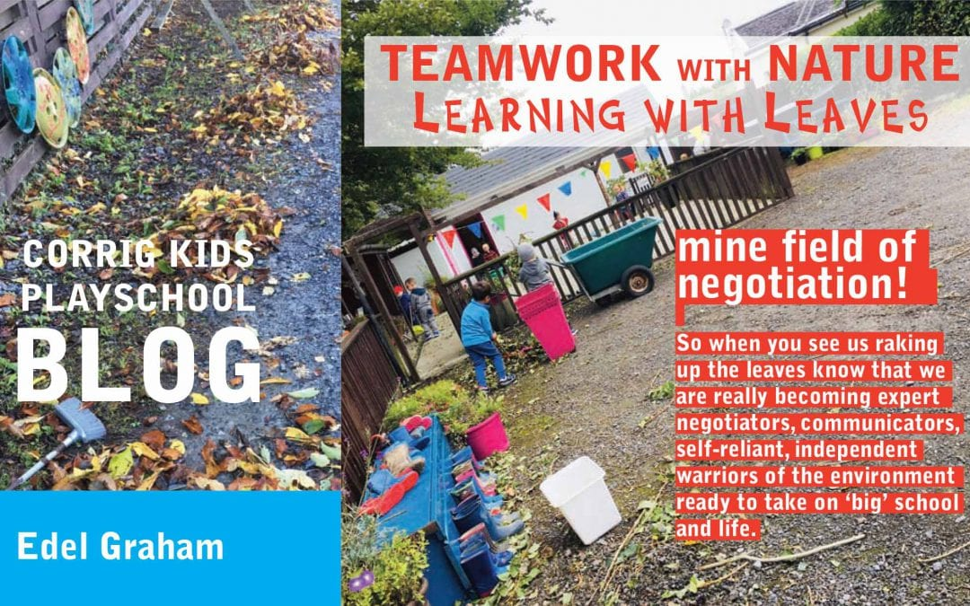 TEAMWORK with NATURE – Learning with Leaves