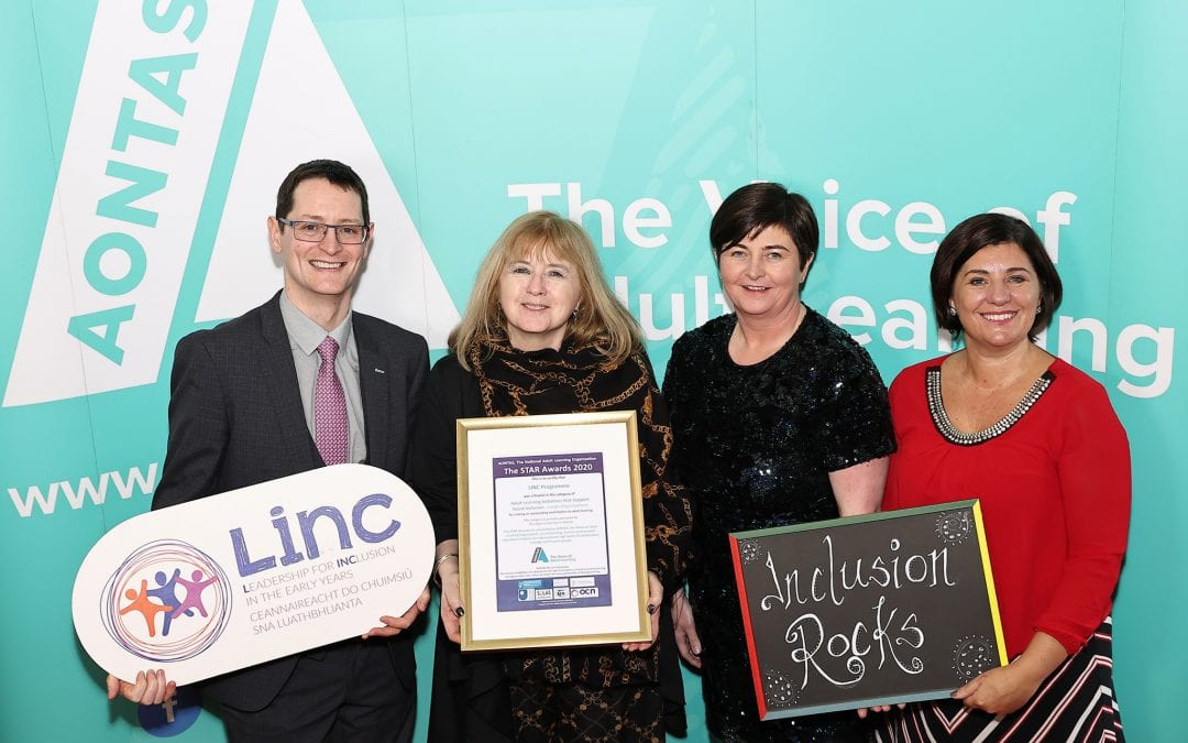 LINC Programme Shortlisted for AONTAS STAR Award 2021